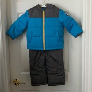 Carters Two Piece Snowsuit